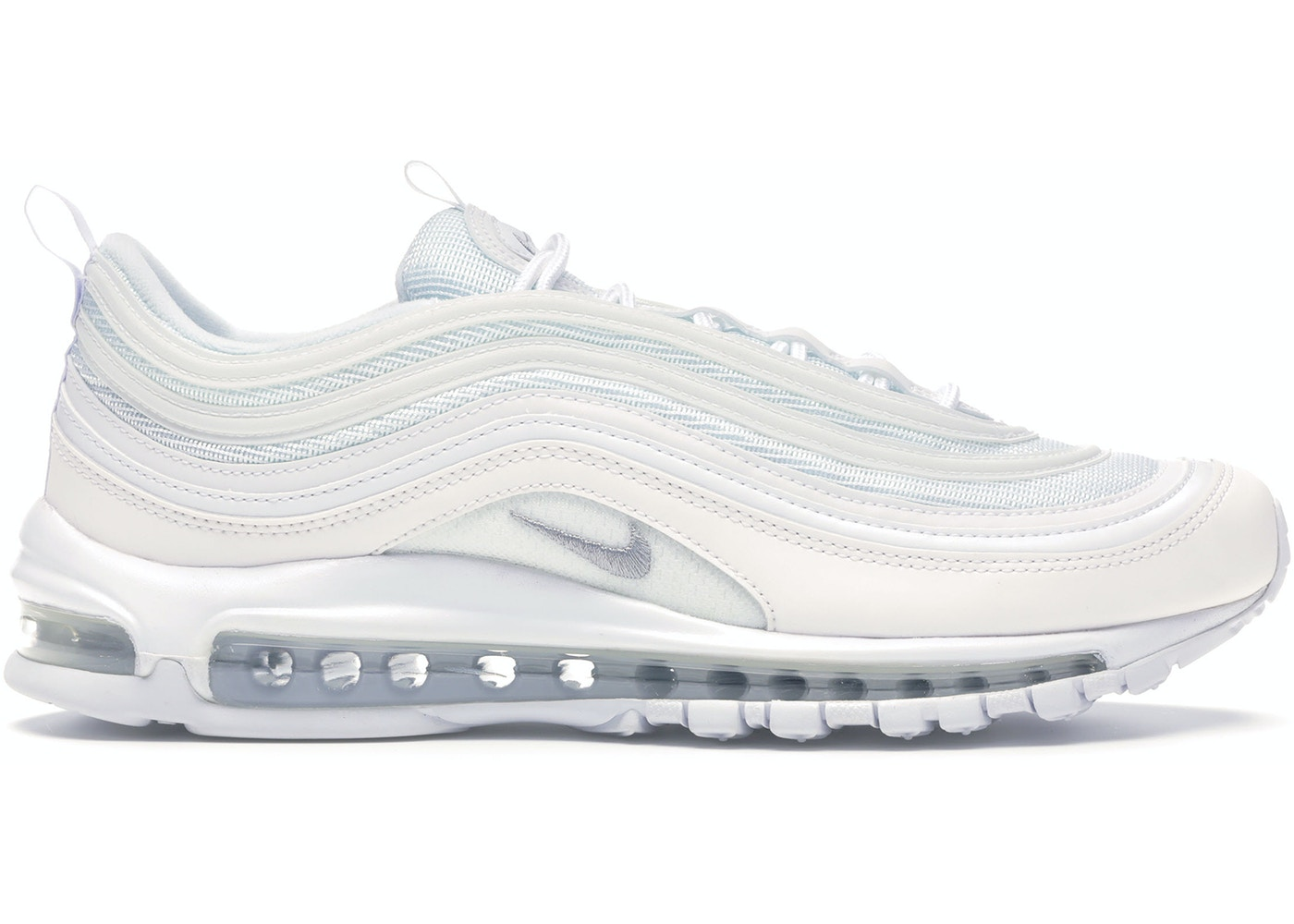 new style 67e6e 2a46f Air Max 97 Triple White Wolf Grey