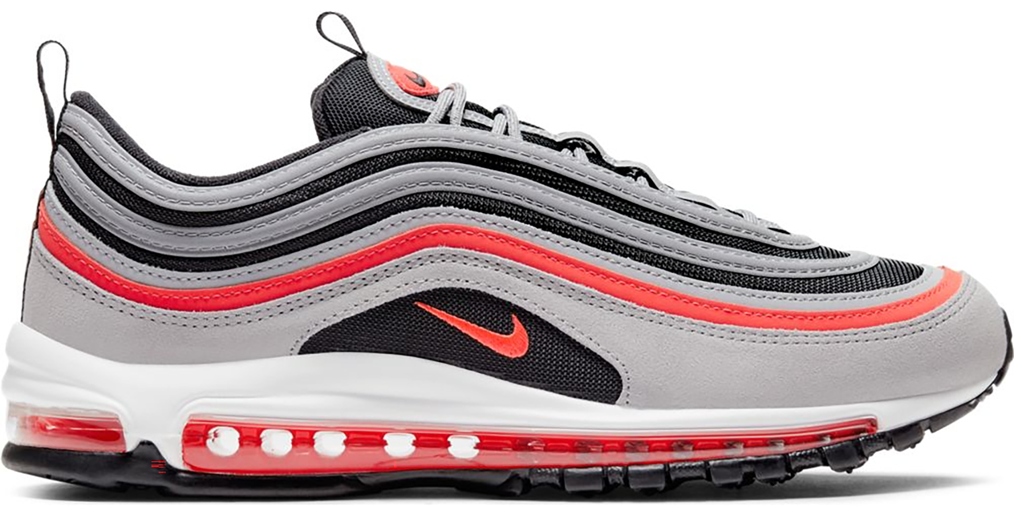 Nike Air Max 97 Wolf Grey Radiant Red