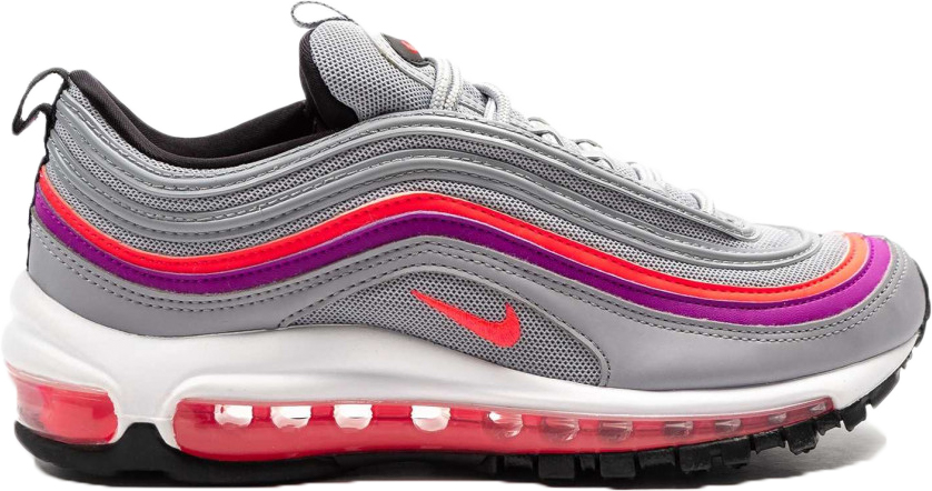 nike air max 97 wolf grey solar red vivid purple