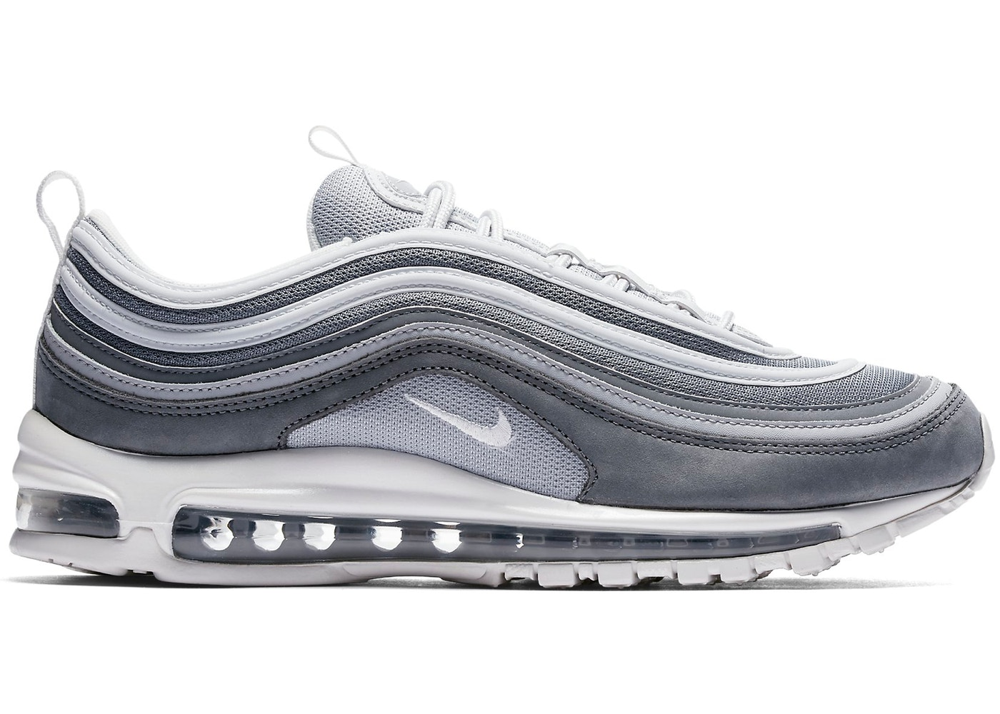 Nike Air Max 97 Metallic Silver Black KicksOnFire.com