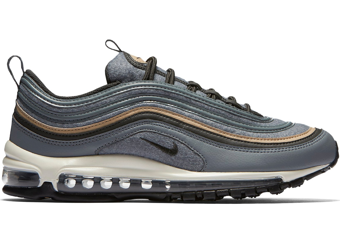 info for e829f c72dc HypeAnalyzer · Air Max 97 Wool Cool Grey Mushroom