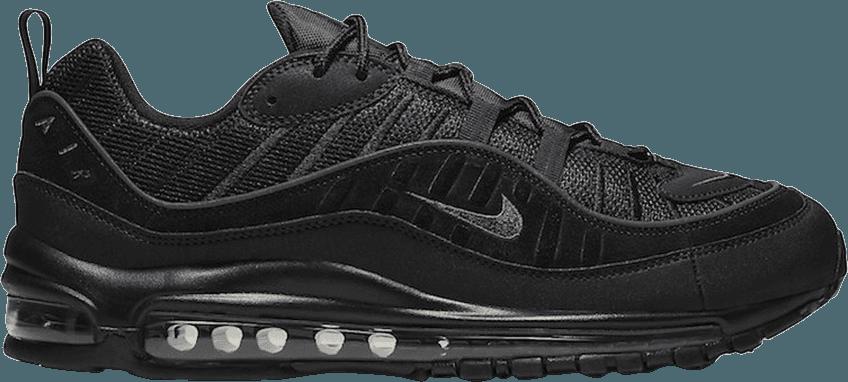 Nike Air Max 98 Black Anthracite Black