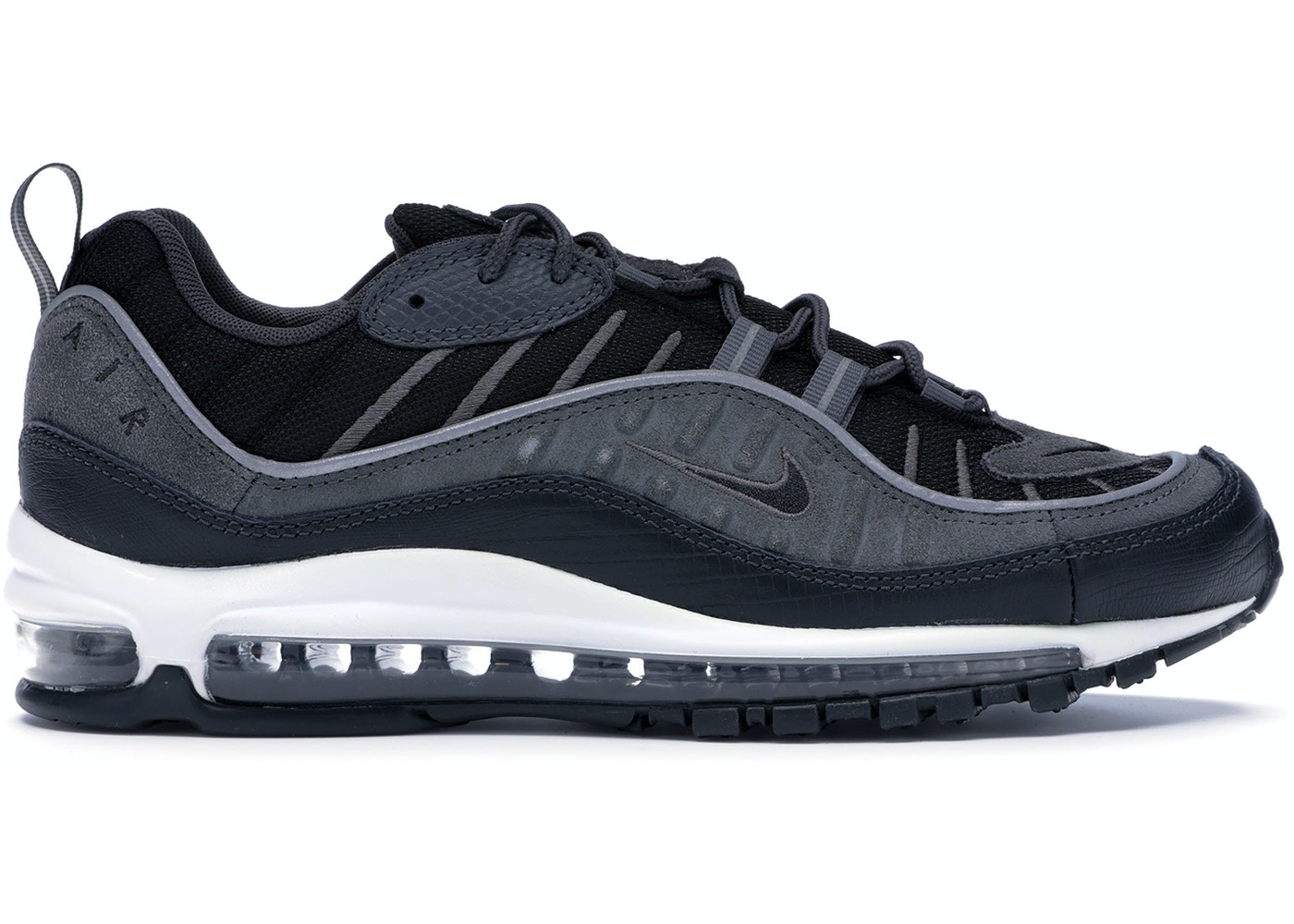 the latest 16422 a62c8 Air Max 98 Black Anthracite - AO9380-001