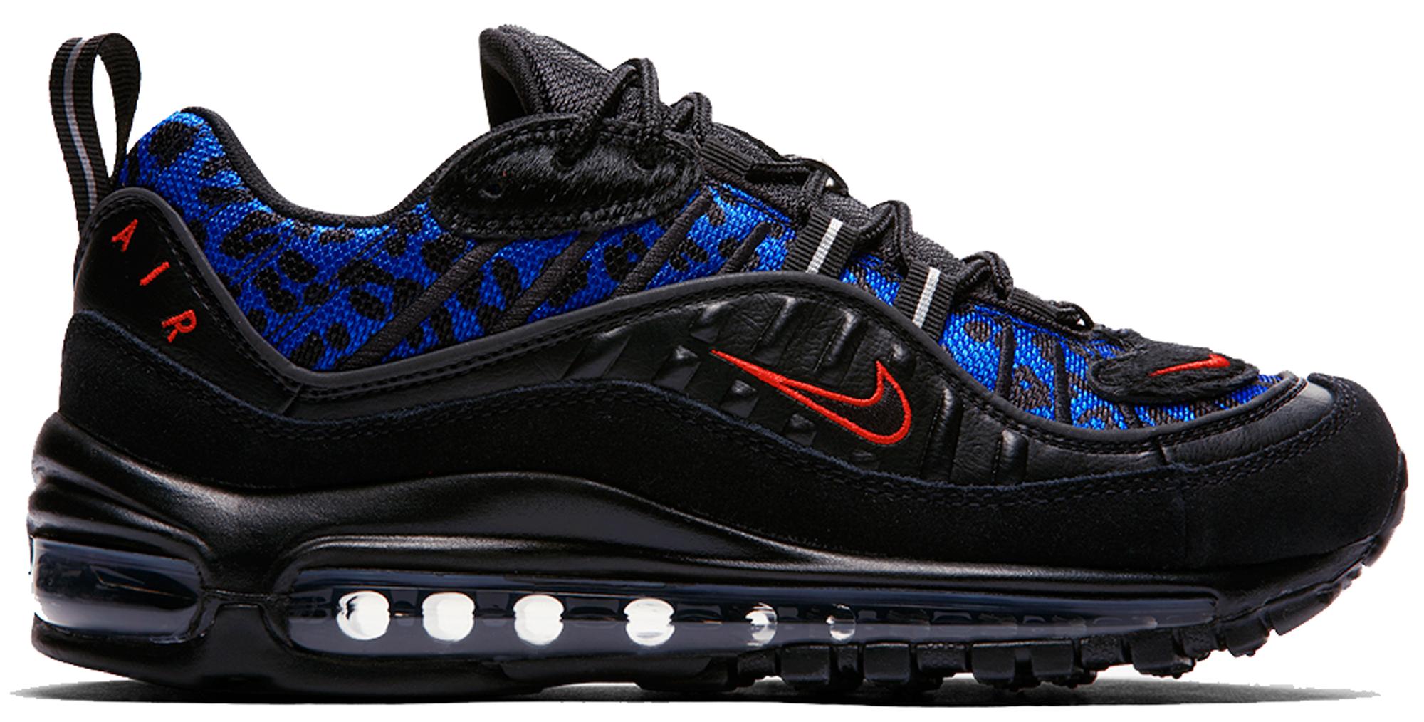 Nike Air Max 98 Black Leopard (W