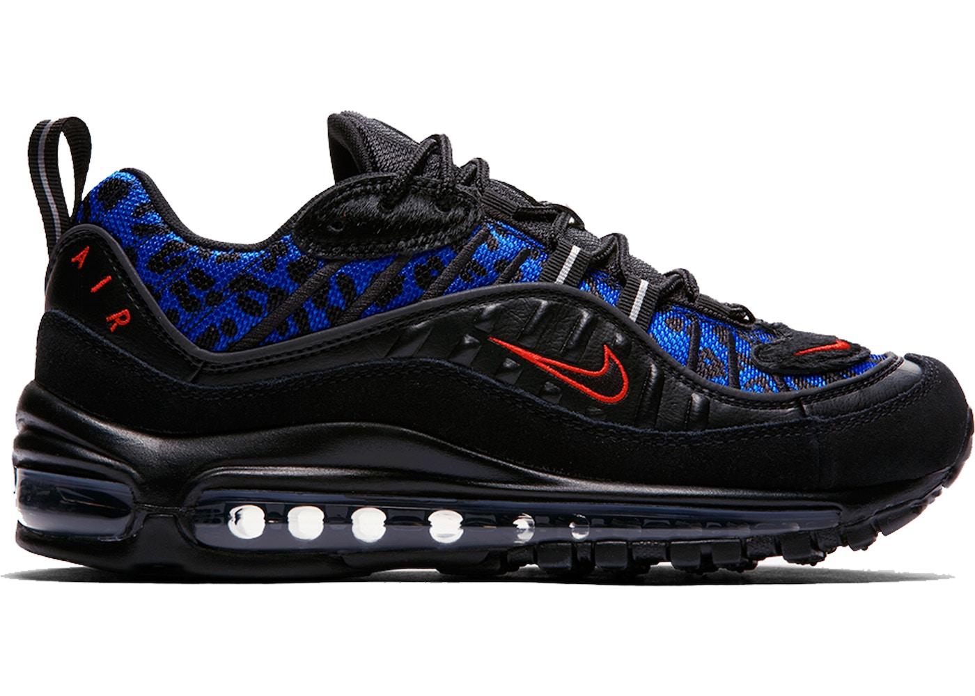 Nike Air Max 98 Black Leopard (W)
