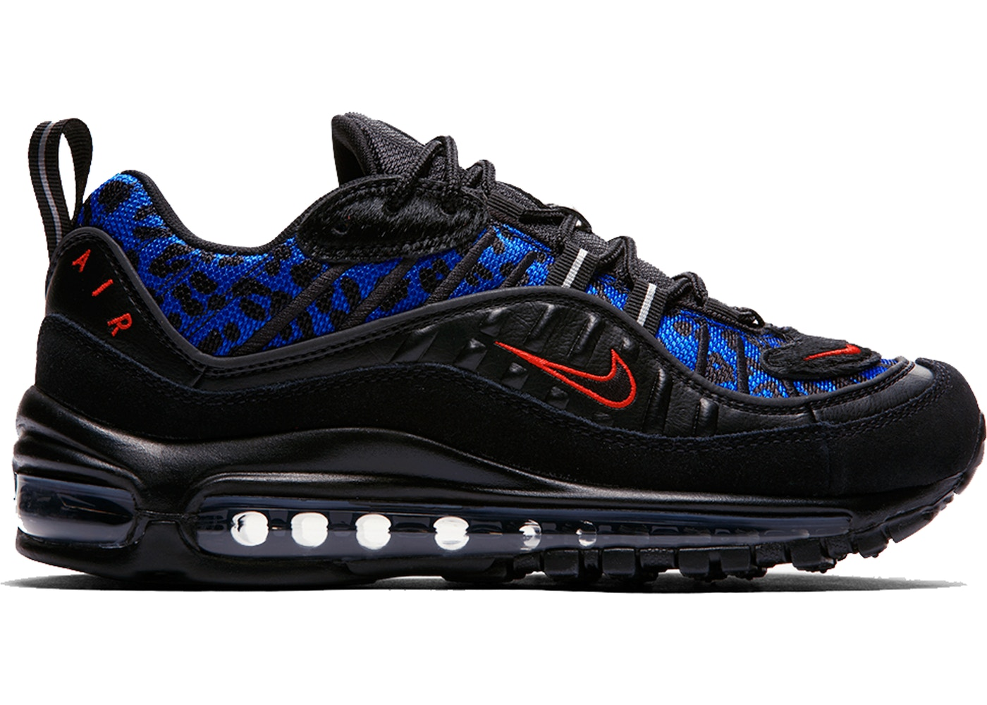 Nike Air Max Modular 98 SI Black White Blue