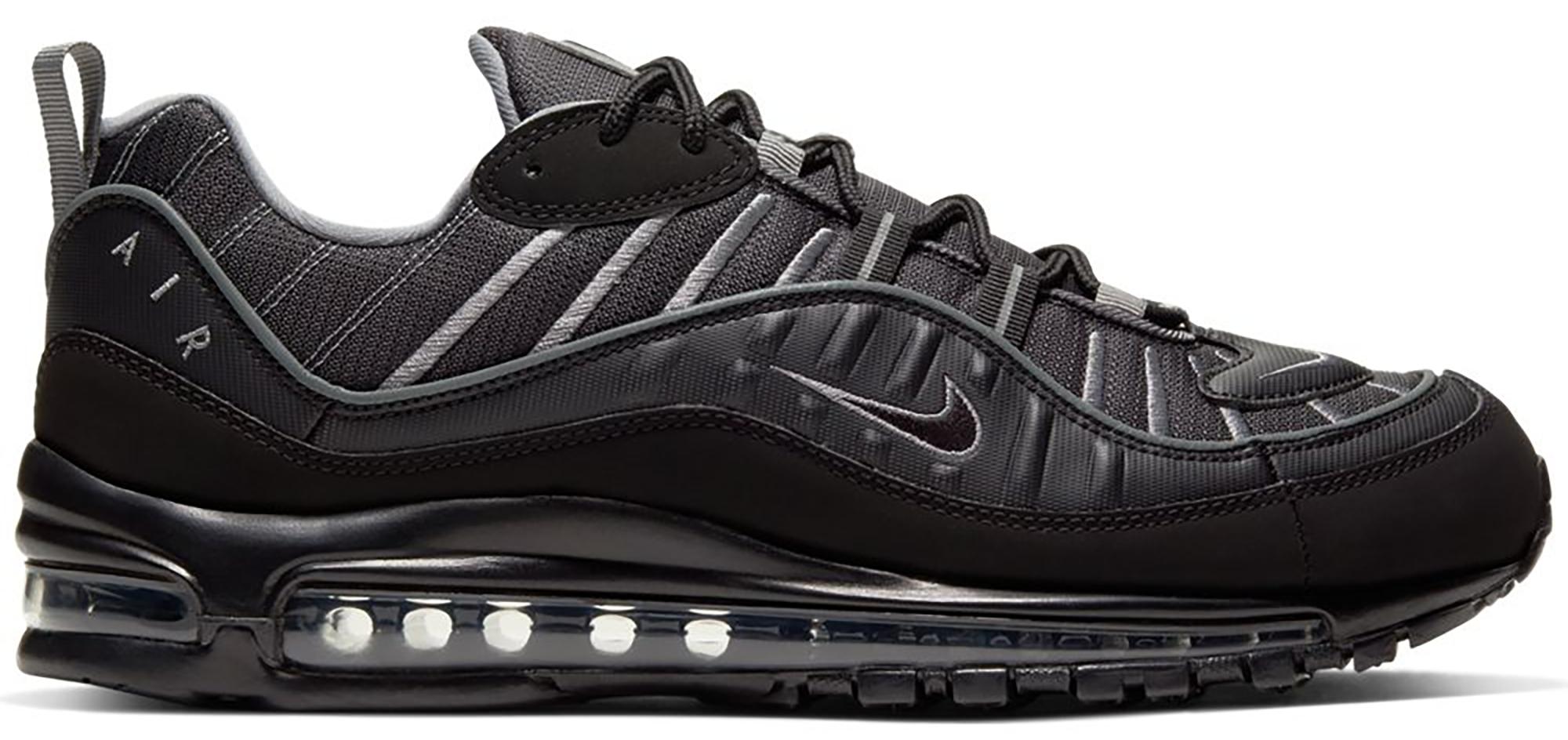 Nike Air Max 98 Black Smoke Grey