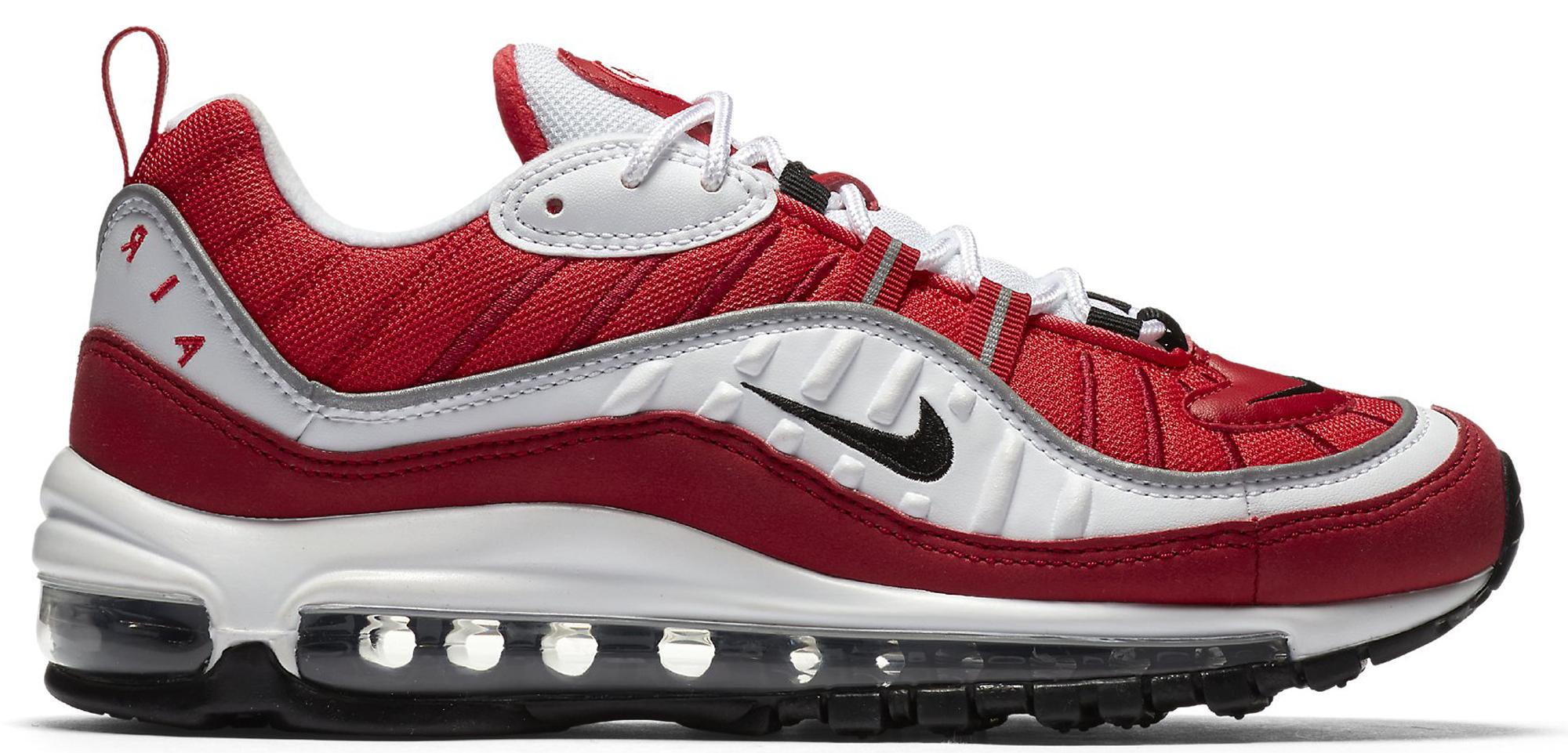 Nike Air Max 98 Gym Red (W) - AH6799-101