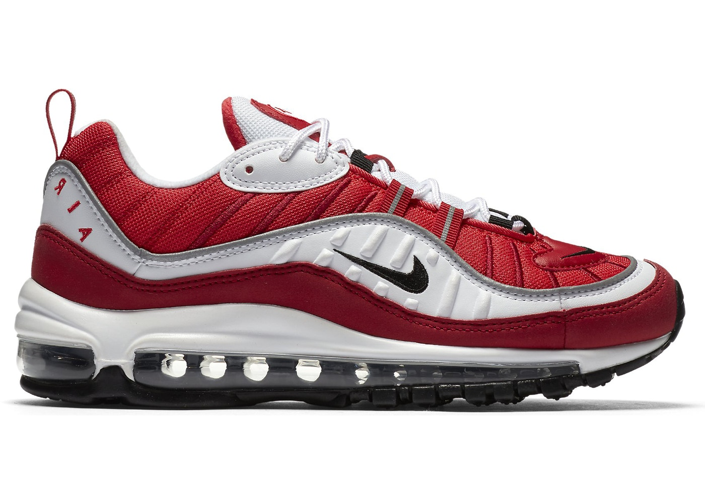 wholesale dealer 5f6ed afa49 Air Max 98 Gym Red (W)