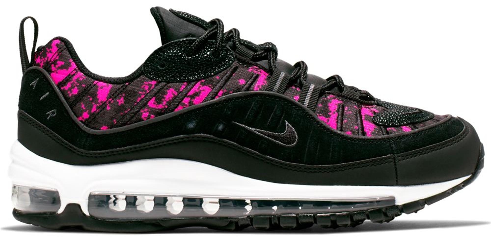 Nike Air Max 98 Pixel Black Hyper Pink