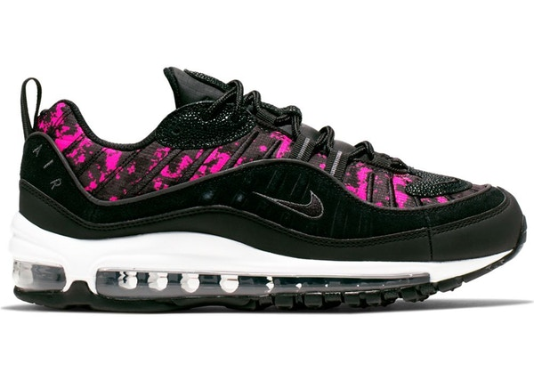 separation shoes 74be0 6c0cd Air Max 98 Pixel Black Hyper Pink (W)