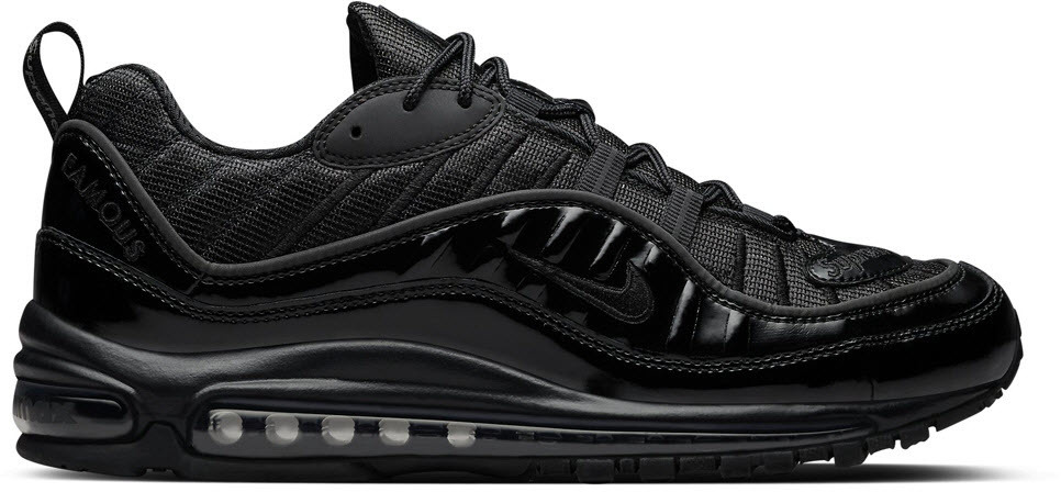 nike air max 98 triple black