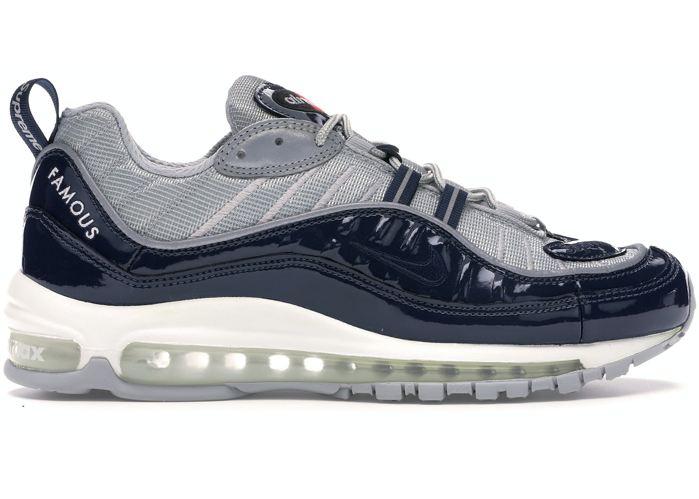 official photos 9ed6b f16a8 Air Max 98 Supreme Obsidian