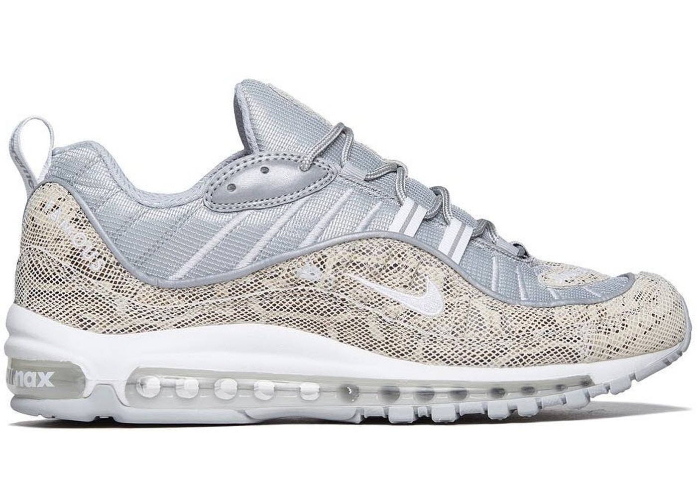 official photos da948 60c8d Air Max 98 Supreme Snakeskin