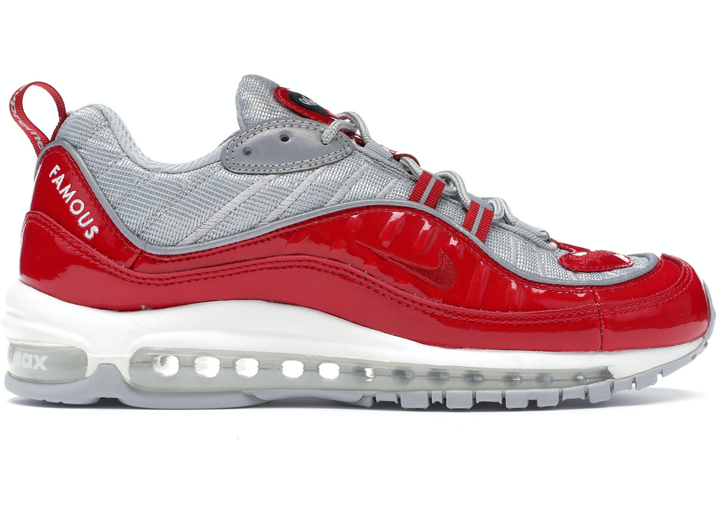 promo code 699b3 d965f Air Max 98 Supreme Varsity Red