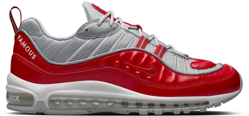 Air Max 98. Supreme Varsity Red