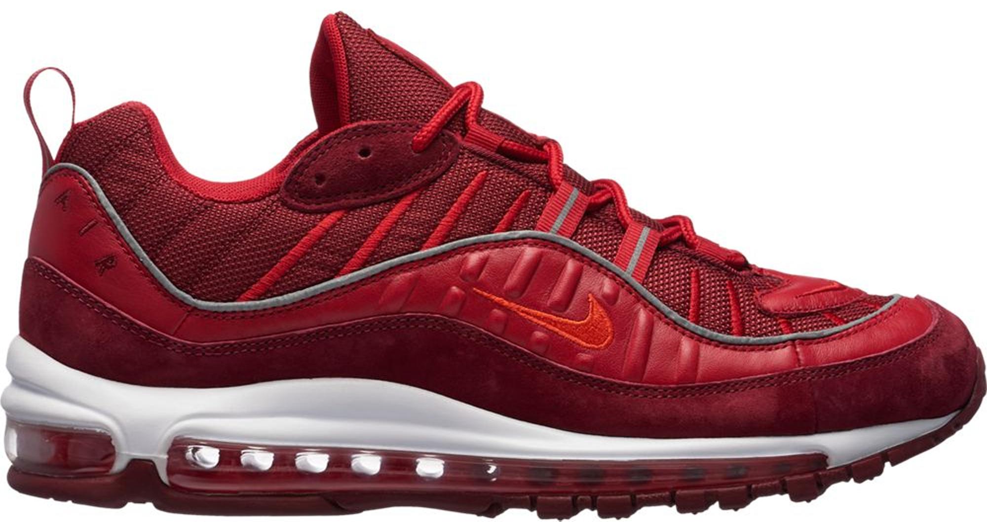 Nike Air Max 98 Triple Red - AO9380-600