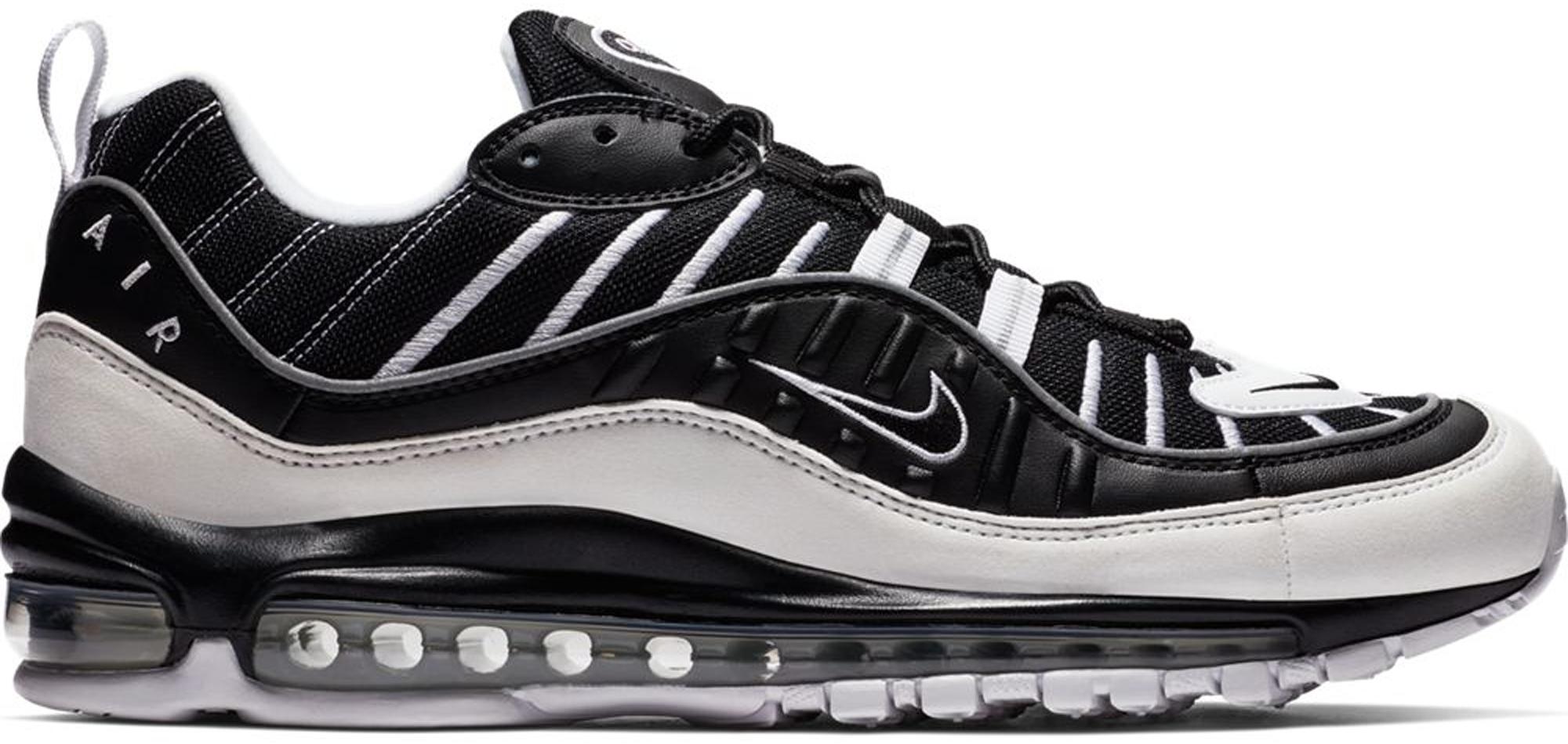 Nike Air Max 98 White Black - 640744-010