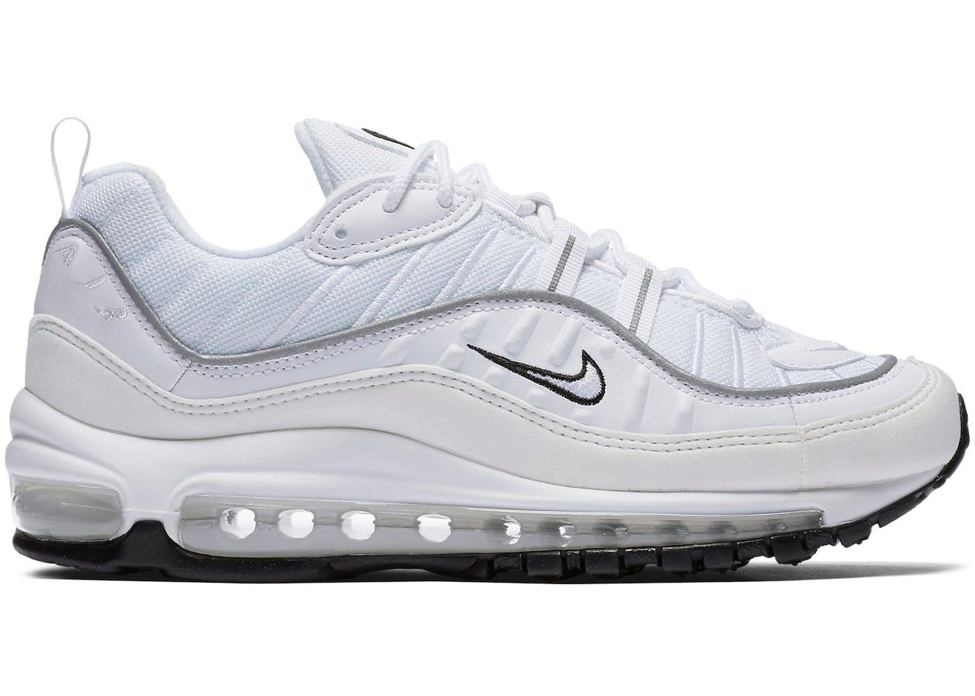 air max 98 silver