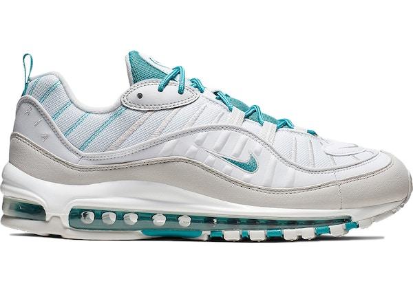 air max 98 white and blue