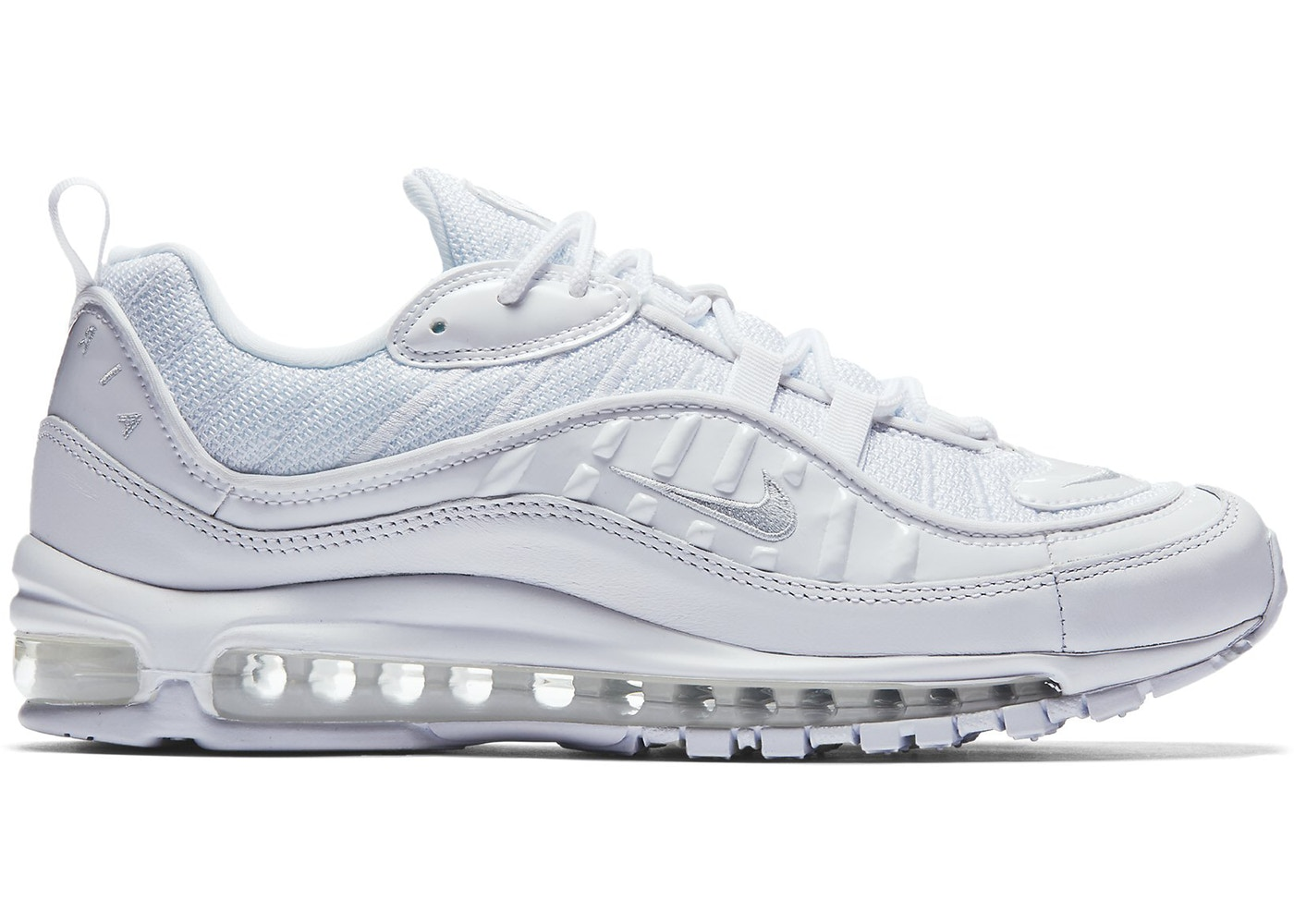 detailed look 59964 d1cb5 Air Max 98 White