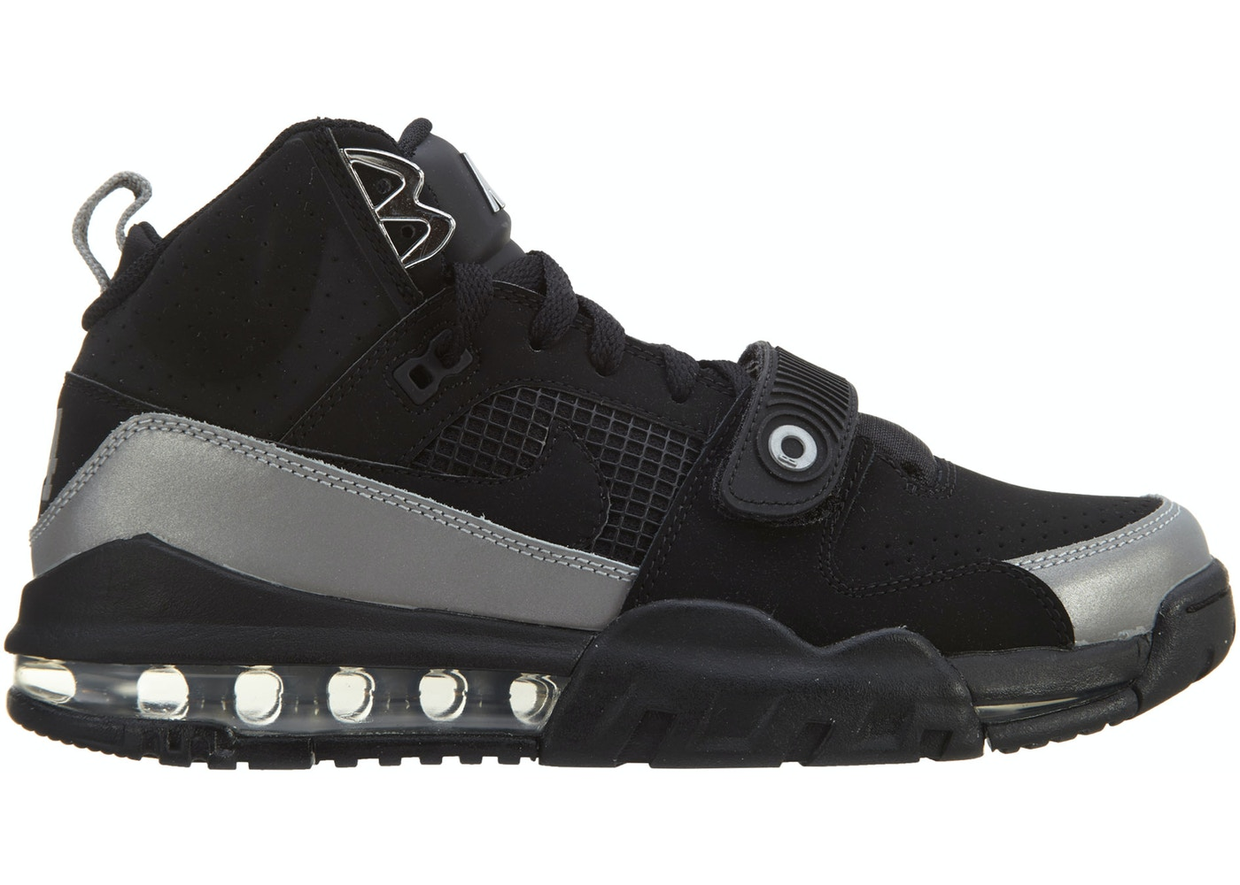 low priced 04c57 7925e Sell. or Ask. Size 9. View All Bids. Air Max Bo Jax Black Black Metallic  Silver