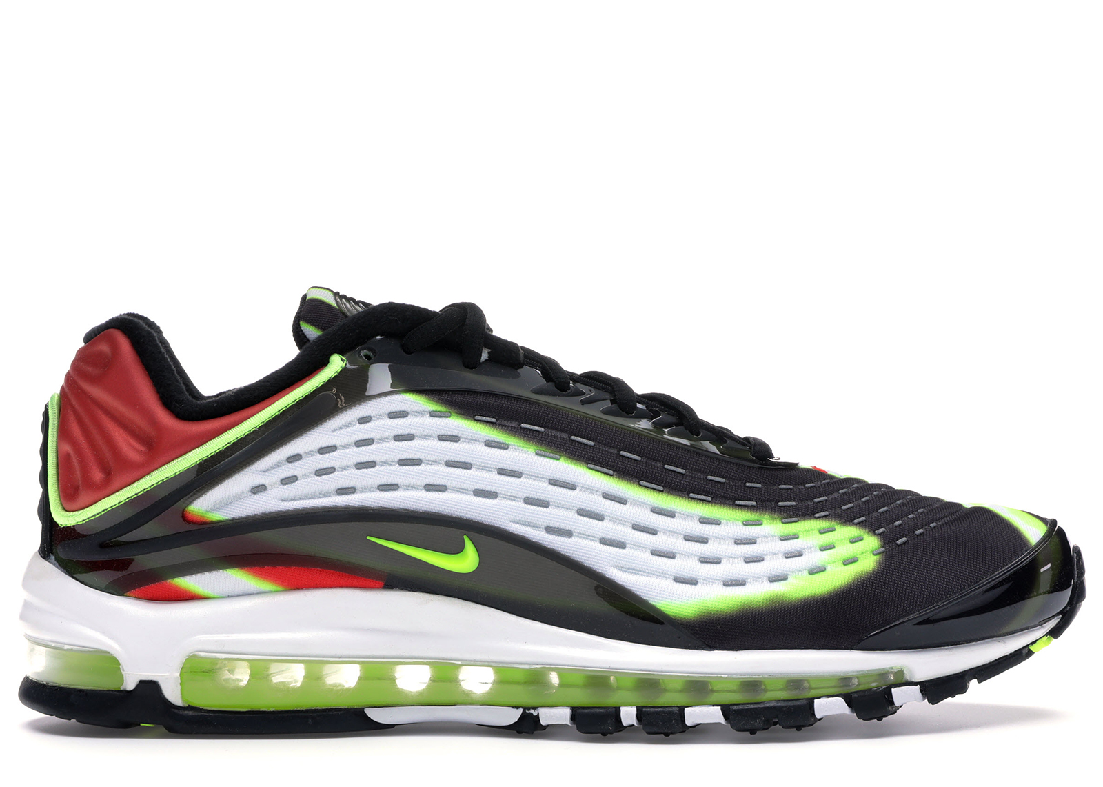 Nike Air Max Deluxe Black Volt Habanero