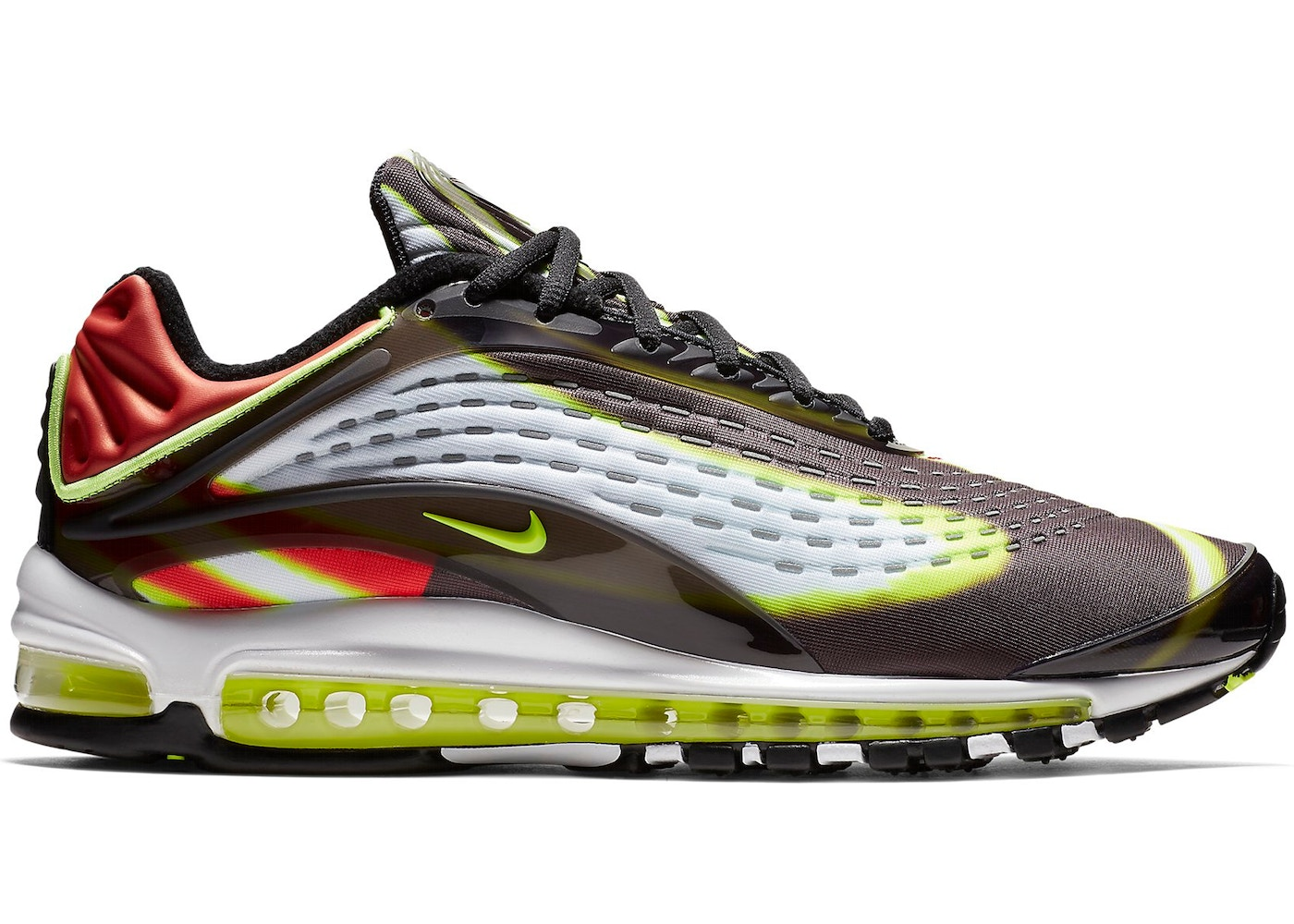 35c0d1ae24166 Sell. or Ask. Size  11.5. View All Bids. Air Max Deluxe Black Volt Habanero  Red