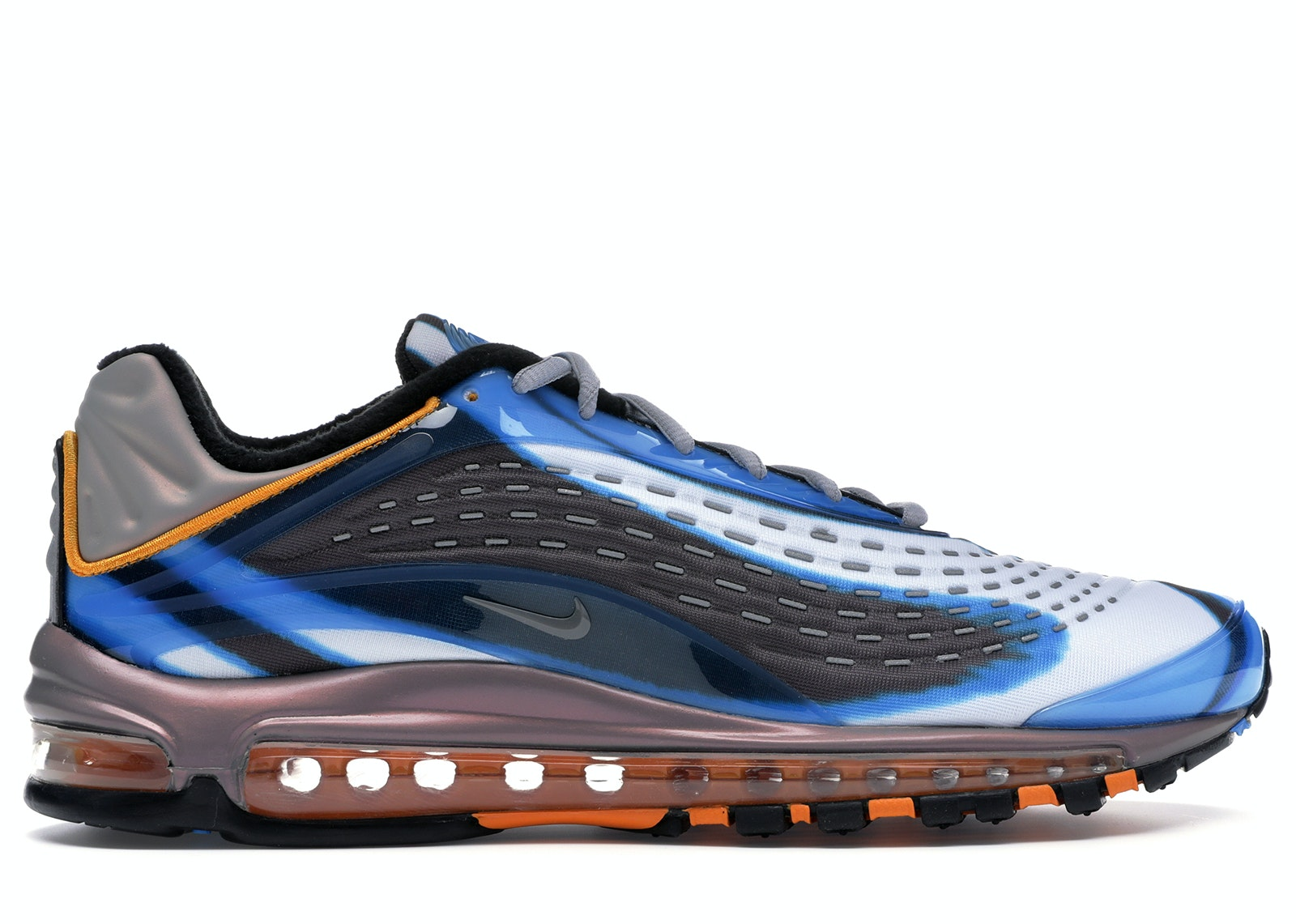 Air Max Deluxe Photo Blue Orange Peel