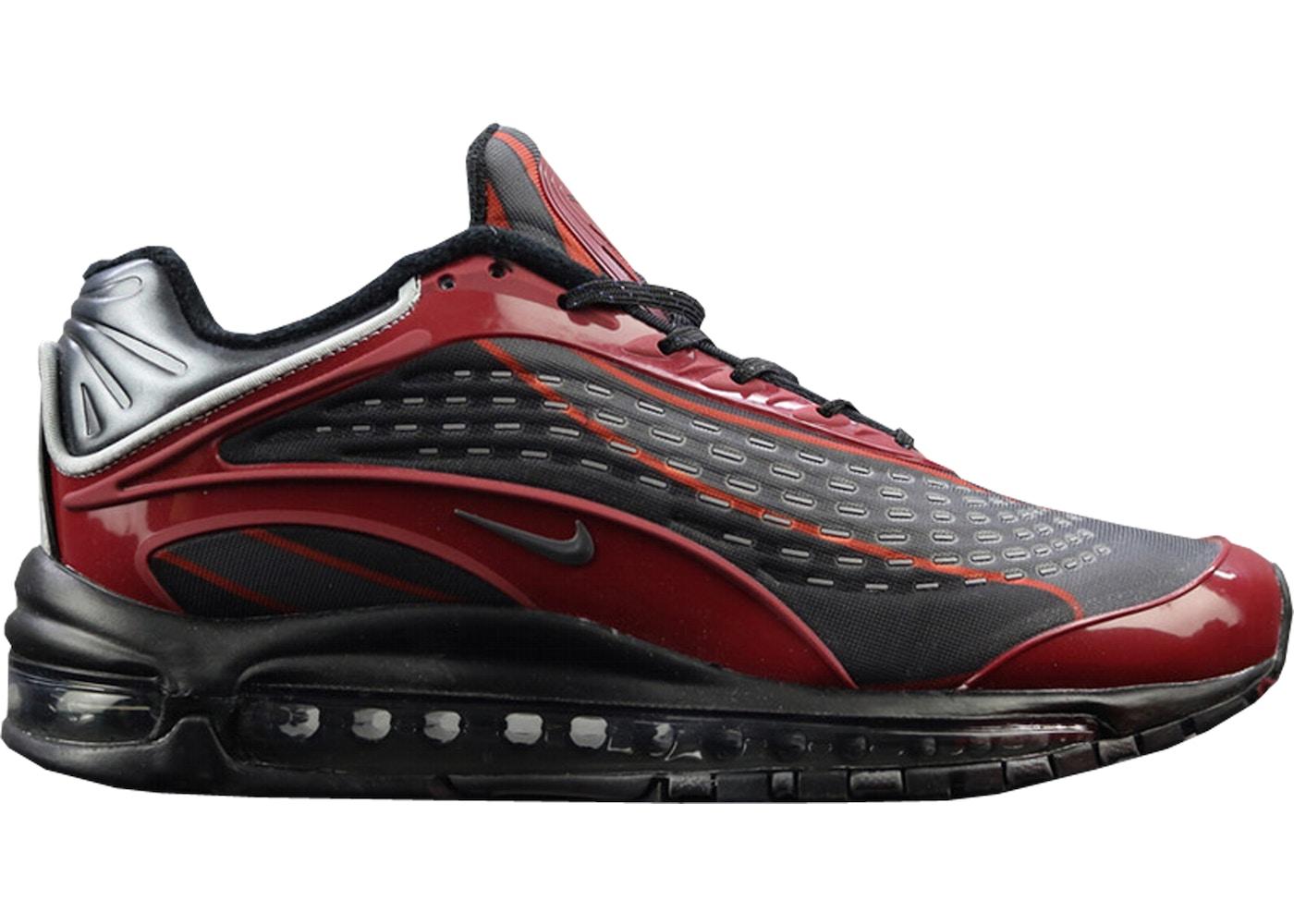 Nike Air Max Deluxe x Skepta BLACKBLACK DEEP RED
