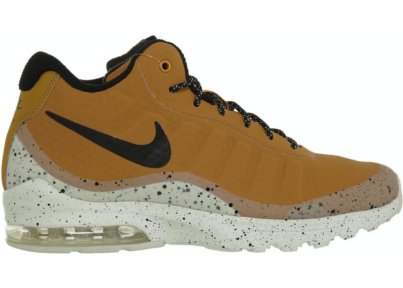 defecto Torbellino Silicio  Nike Air Max Invigor Mid Wheat Black-Light Bone - 858654-700