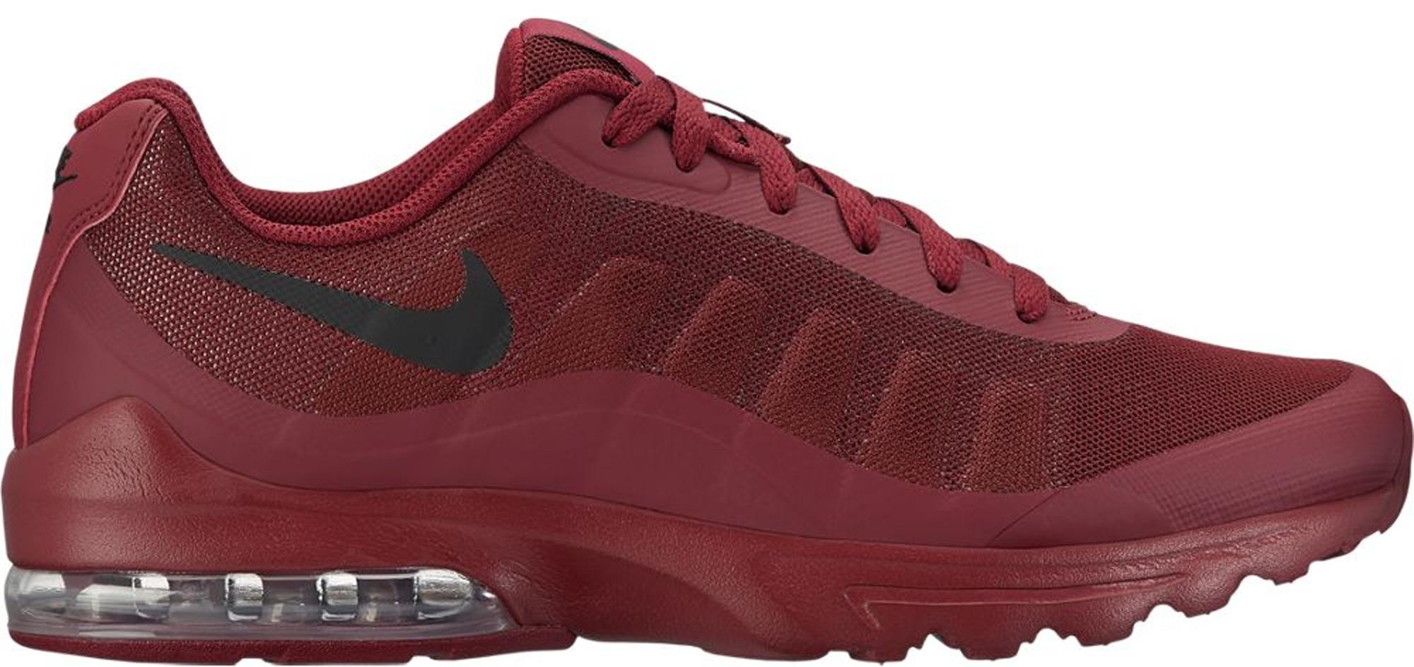 Nike Air Max Invigor Mens 749680-601 Team Red Black Running Shoes 9 9.5 11.5 13