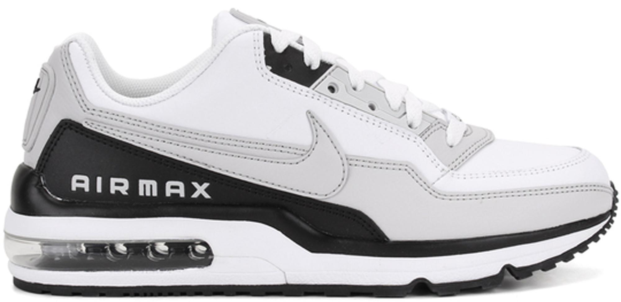 nike air max ltd 3 white and black