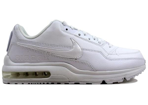 huge selection of 3c81c 5cc8e Nike Air Max Ltd 3 White White-White - 687977-111