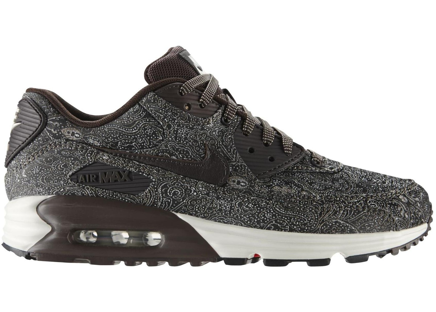 new concept ca485 ee2a6 Air Max Lunar90 Brown-Paisley - 705068-201