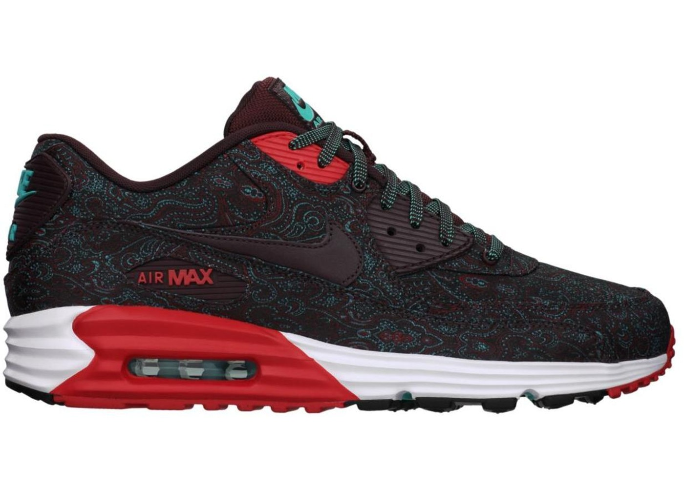 new concept 2d1fe 287a2 Sell. or Ask. Size  11.5. View All Bids. Air Max Lunar90 Burgundy-Paisley