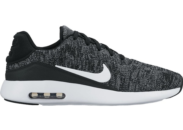 Details about Nike Air Max Modern Flyknit Mens 876066 002 Black White Running Shoes Size 7 NEW