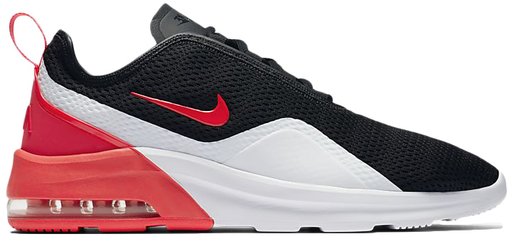 nike air max motion 2 red and black