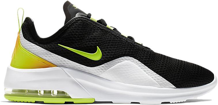 Nike Air Max Motion 2 Black Total Orange - AO0266-007