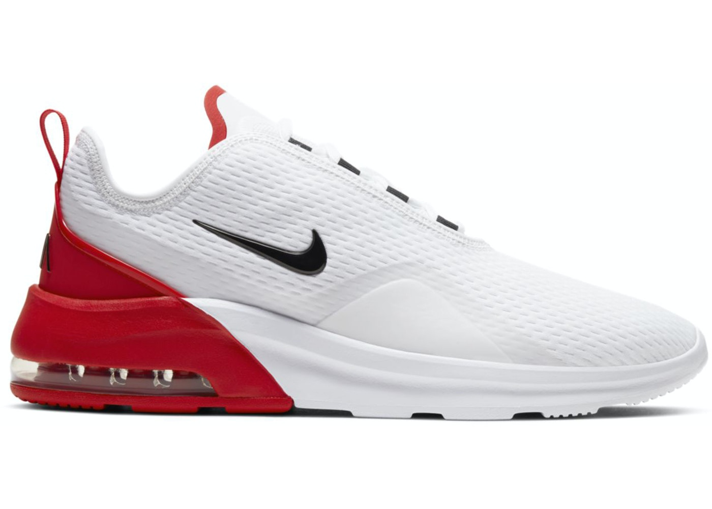 Gran engaño Cuestiones diplomáticas Negligencia médica  Nike Air Max Motion 2 White University Red - AO0266-105