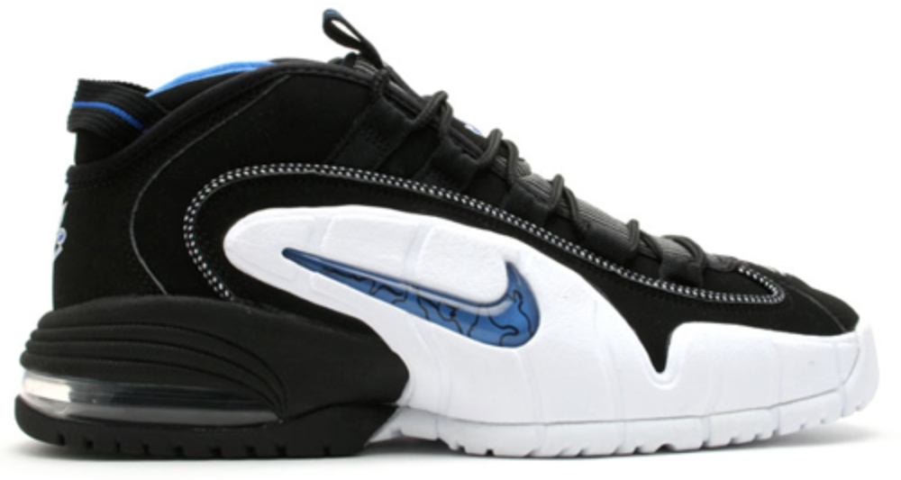 Nike Air Max Penny 1 Orlando (2000) Sneakers (Black/Varsity Royal-Black)