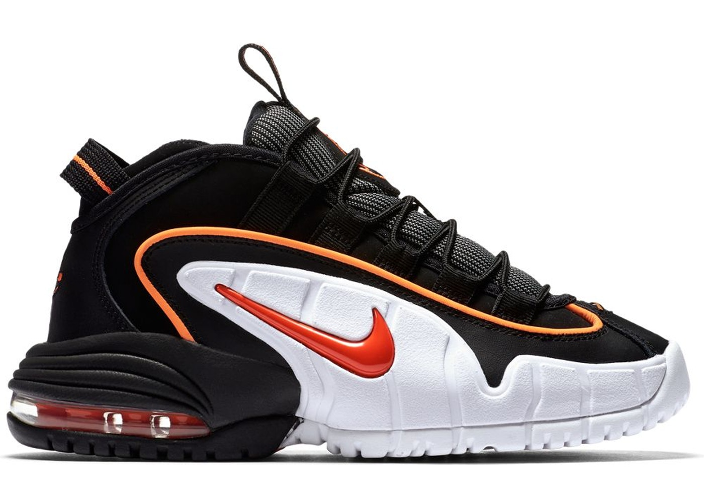 best loved 6cdc8 d2fd4 Air Max Penny Black Total Orange (GS) - 315519-006