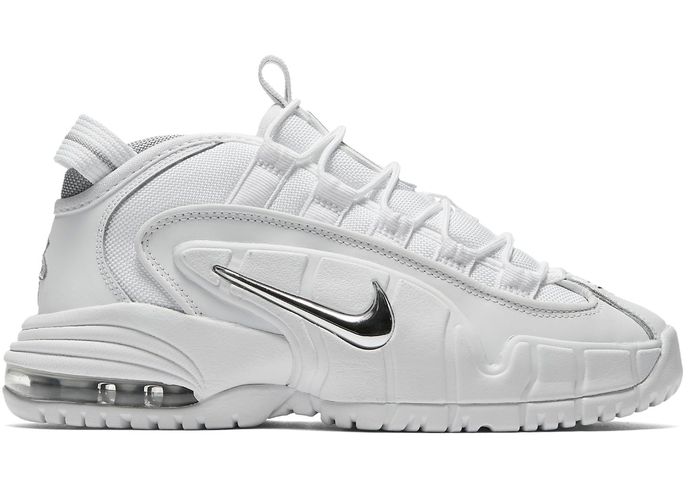 detailed look ab299 93d14 Air Max Penny White Metallic 2018 (GS)