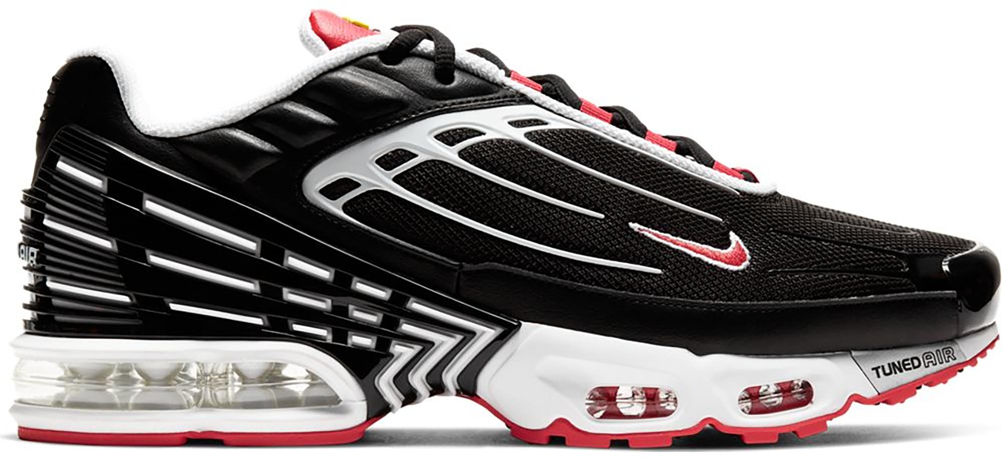 Nike Air Max Plus 3 Black White Track