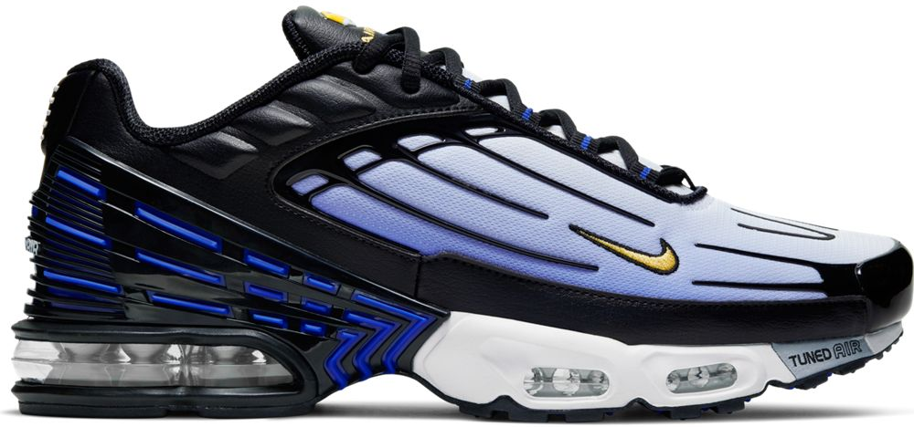 hot products best shoes check out Air Max Plus 3 Hyper Blue In Black/hyper Blue-dynamic Yellow