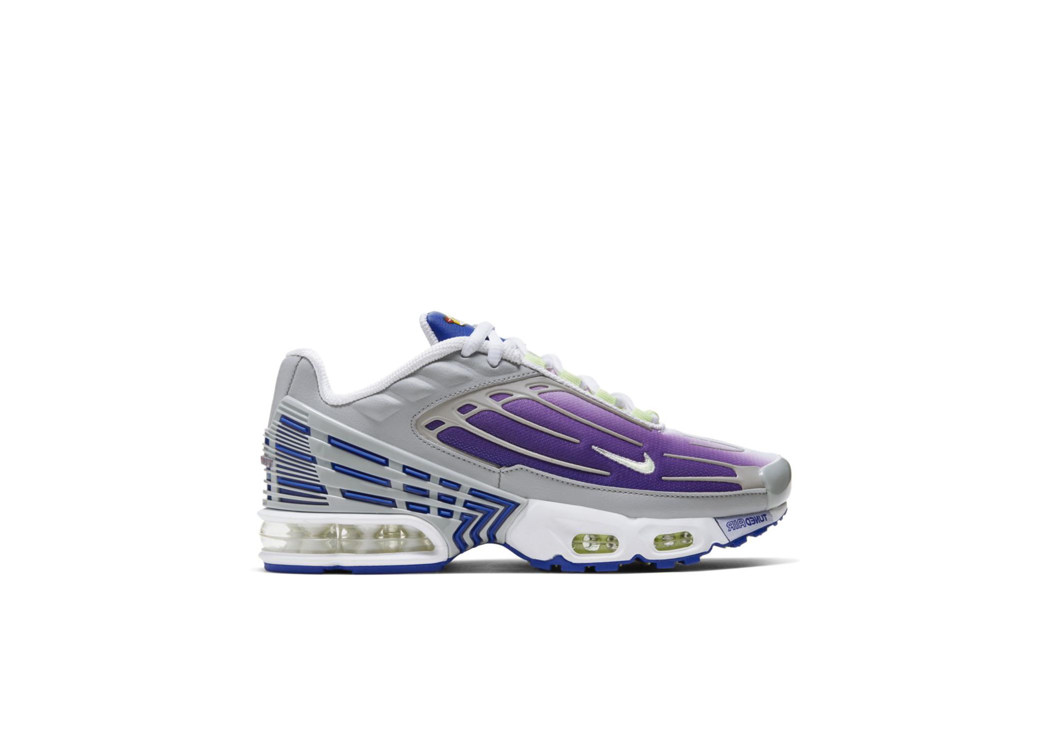 nike air max plus 3 gs hyper purple