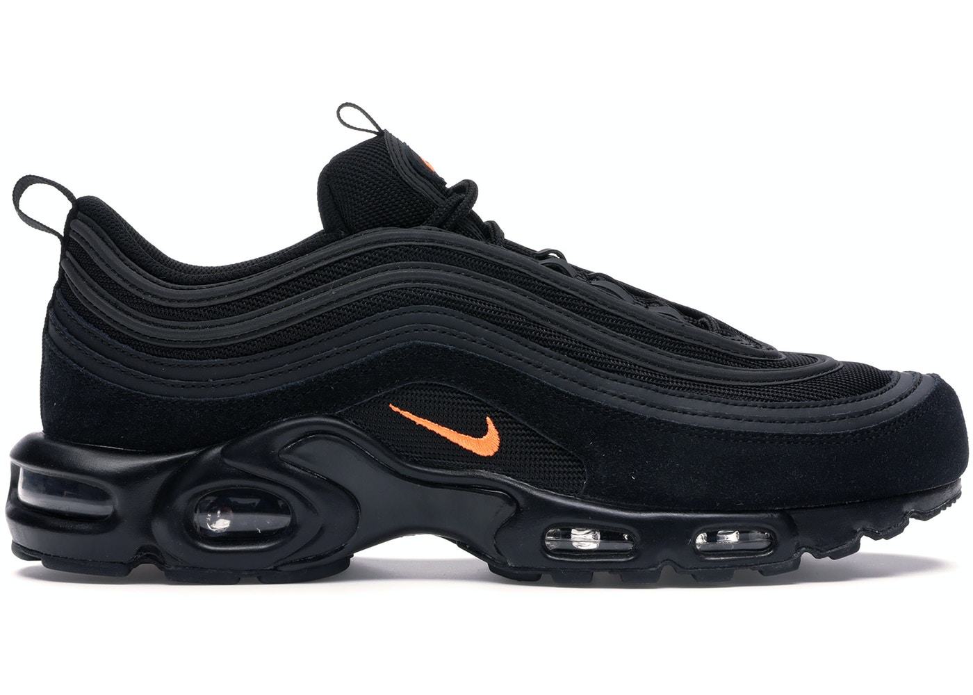 san francisco d7f3e cfc04 Air Max Plus 97 Black Hyper Crimson