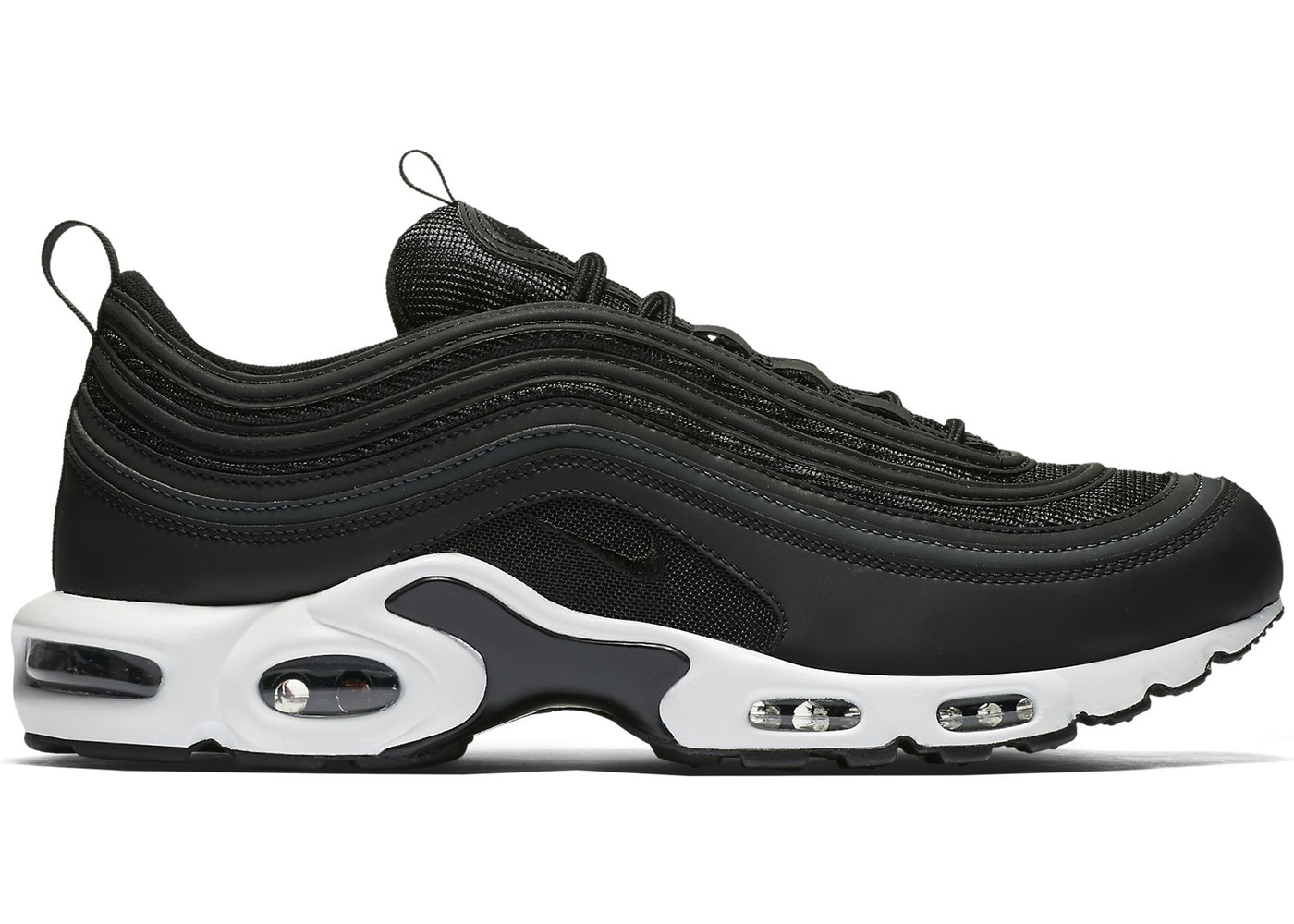 check-out 641c1 00b4d Air Max Plus 97 Black White