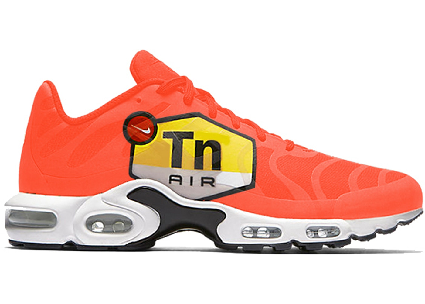 Nike Air Max Plus Big Logo Total Orange Aj7181 800