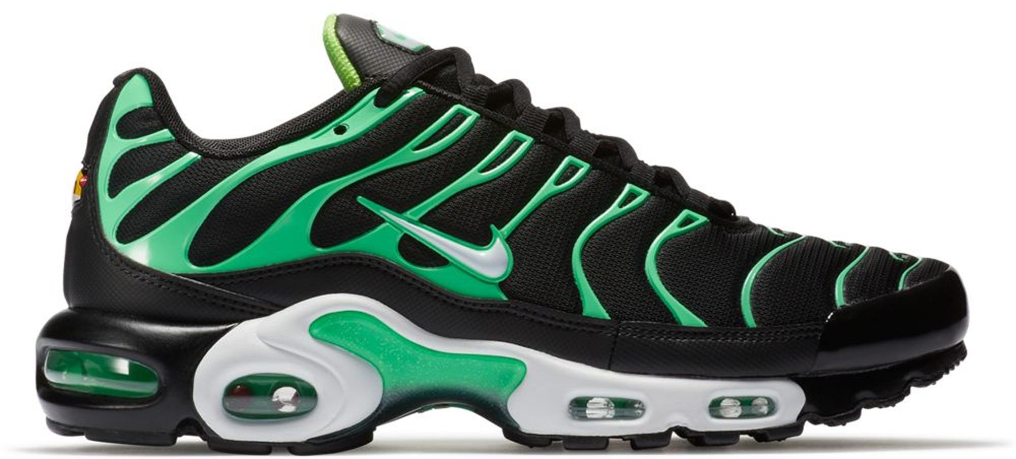 Nike Air Max Plus Black Electric Green